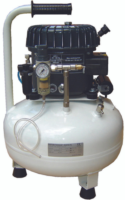 Val-Air 50-24 AL 1/2 HP Single Phase 6 Gallon Silent Air Compressor by Silentaire Technologies