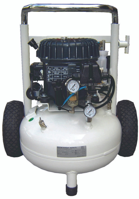 Val-Air 50-T-AIRE 1/2 HP Single Phase 6 Gallon Silent Air Compressor by Silentaire Technologies