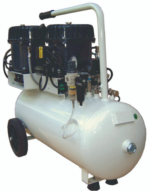 Val-Air 150-50 AL 3 x 1/2 HP 6.4 CFM Silent Air Compressor by Silentaire Technologies