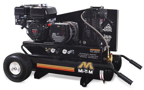 Mi-T-M AG1-PH65-08M1 6.5 HP Honda Air Compressor/Generator Combo