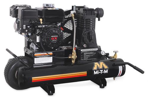 Mi-T-M AM1-PH65-08M 6.5 HP Honda Gasoline Driven Single Stage Portable Air Compressor