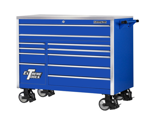 """Extreme Tools EX5511RCBL 55"""" 11 Drawer Professional Roller Cabinet Tool Box"""