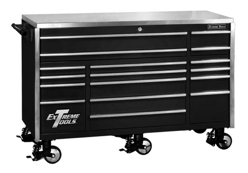 Extreme Tools EX7217RCBK Roller Cabinet