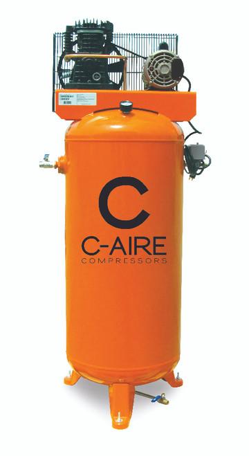 C-Aire A030V060-1230 3 HP 230 Volt Single Phase 60 Gallon Air Compressor
