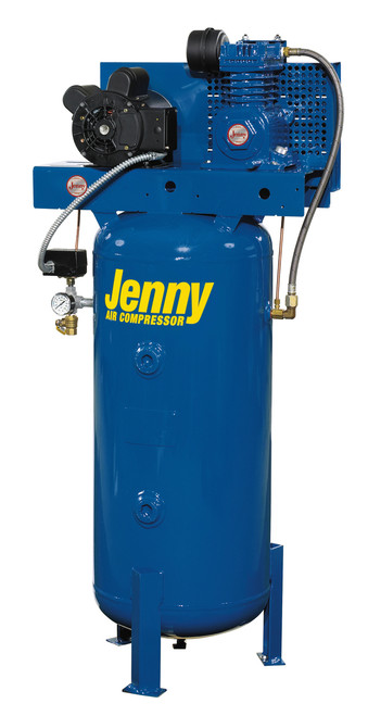 Jenny K15A-30 1.5 HP 115 Volt 30 Gallon Air Compressor