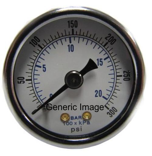 260-3002 300 psi Center Mount Gauge