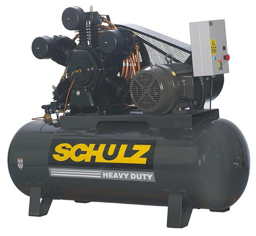 Schulz 20120HW80X-3 20 HP 460 Volt Two Stage 120 Gallon Air Compressor
