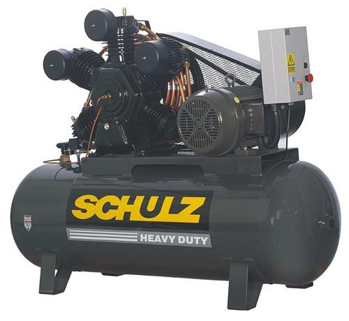 Schulz 20120HW80X-3 20 HP 460 Volt Two Stage 120 Gallon Air Compressor