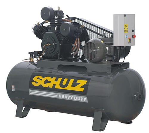 Schulz 15120HW60X-3 15 HP 460 Volt 3 Phase 60 CFM 120 Gallon Air Compressor
