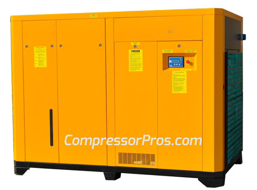 EMAX ERS1500003 150 HP Rotary Screw Air Compressor (230 Volt)