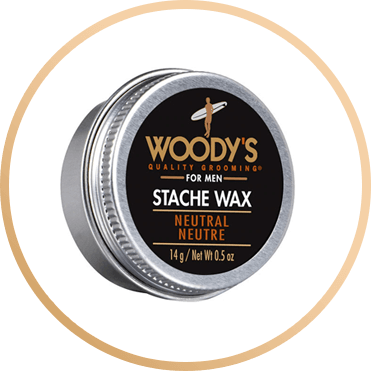 WOODY'S FOR MEN STACHE WAX