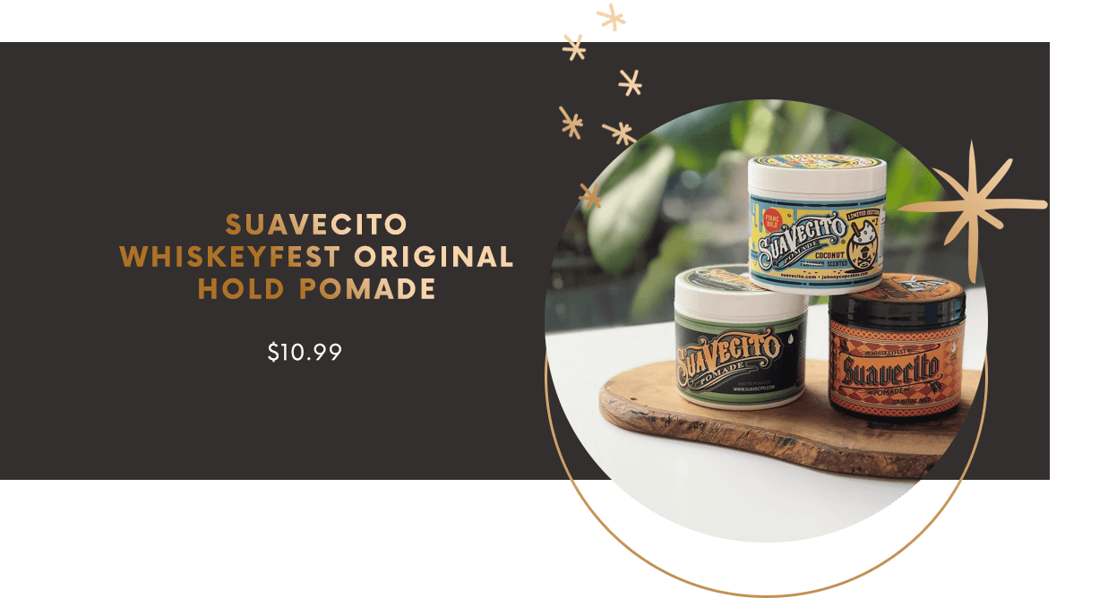 SUAVECITO WHISKEYFEST ORIGINAL HOLD POMADE