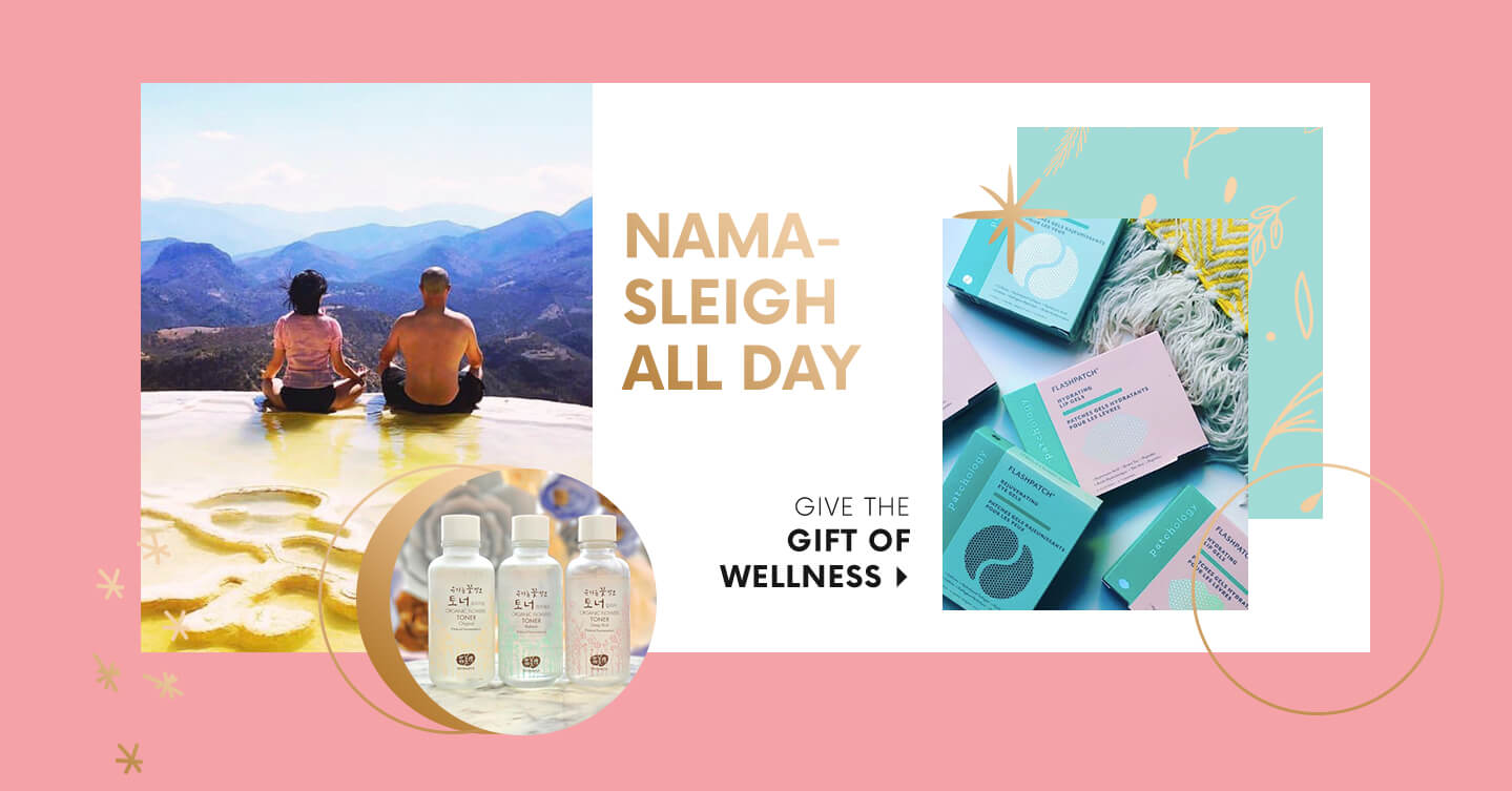 NAMA- SLEIGH ALL DAY GIVE THE GIFT OF WELLNESS