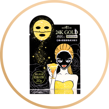SEXY LOOK 24K GOLD MOIST MASK