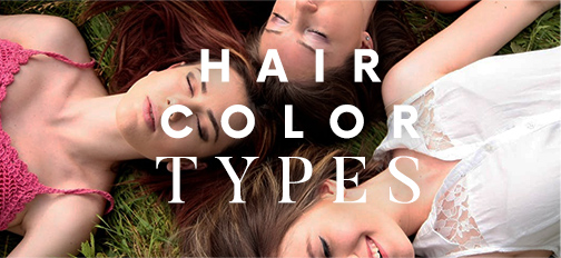 Hair Color Types