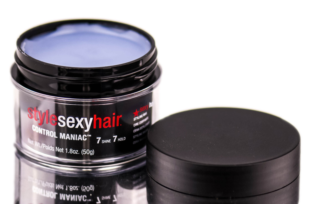 Style sexy hair wax