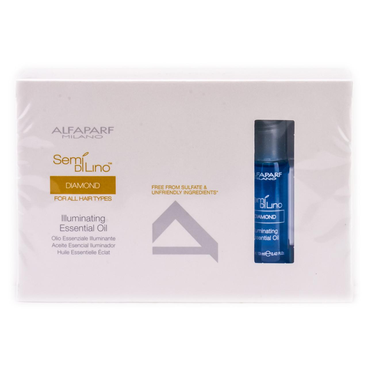 Alfaparf Semi Di Lino Diamond Illuminating Essential Oil Sleekshop