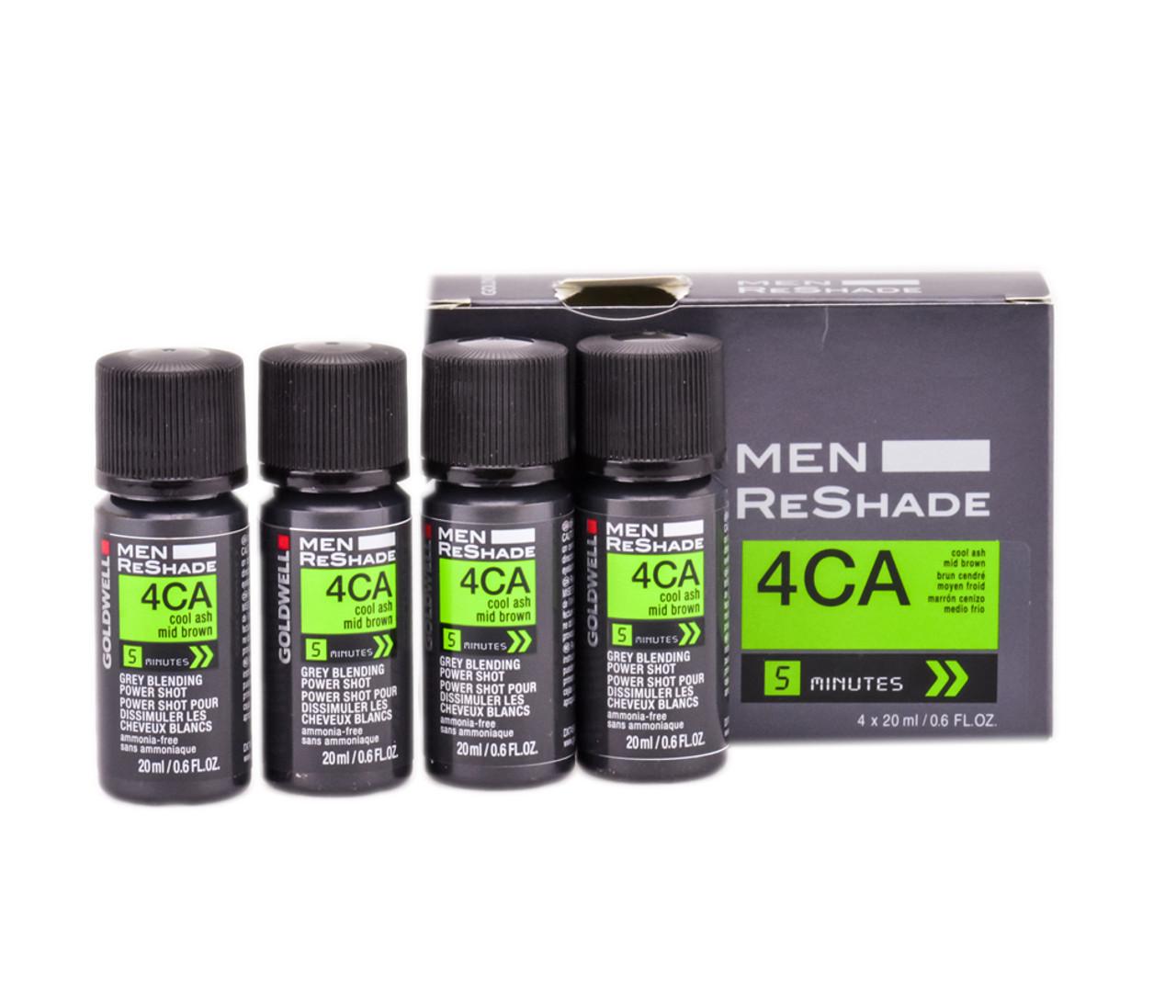 Goldwell Men ReShade Grey Blending Power Shot (4 pack) - SleekShop ...