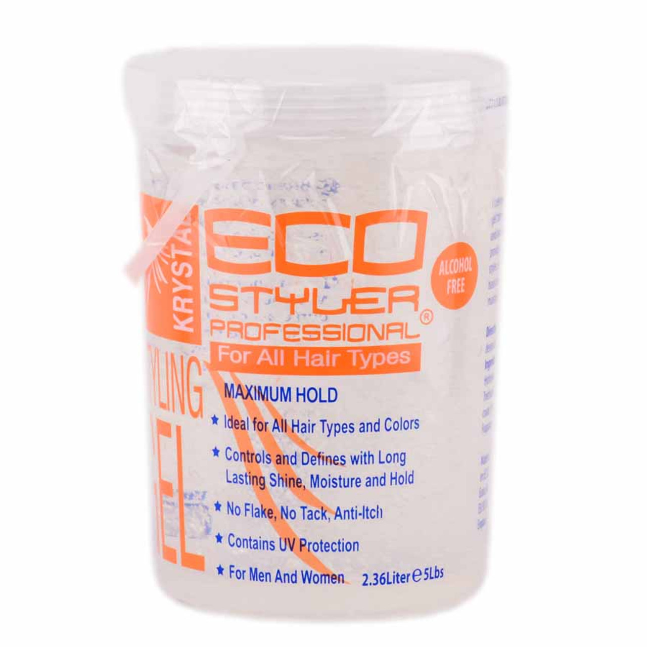 Eco Krystal Styler Professional Styling Gel For All Hair Types