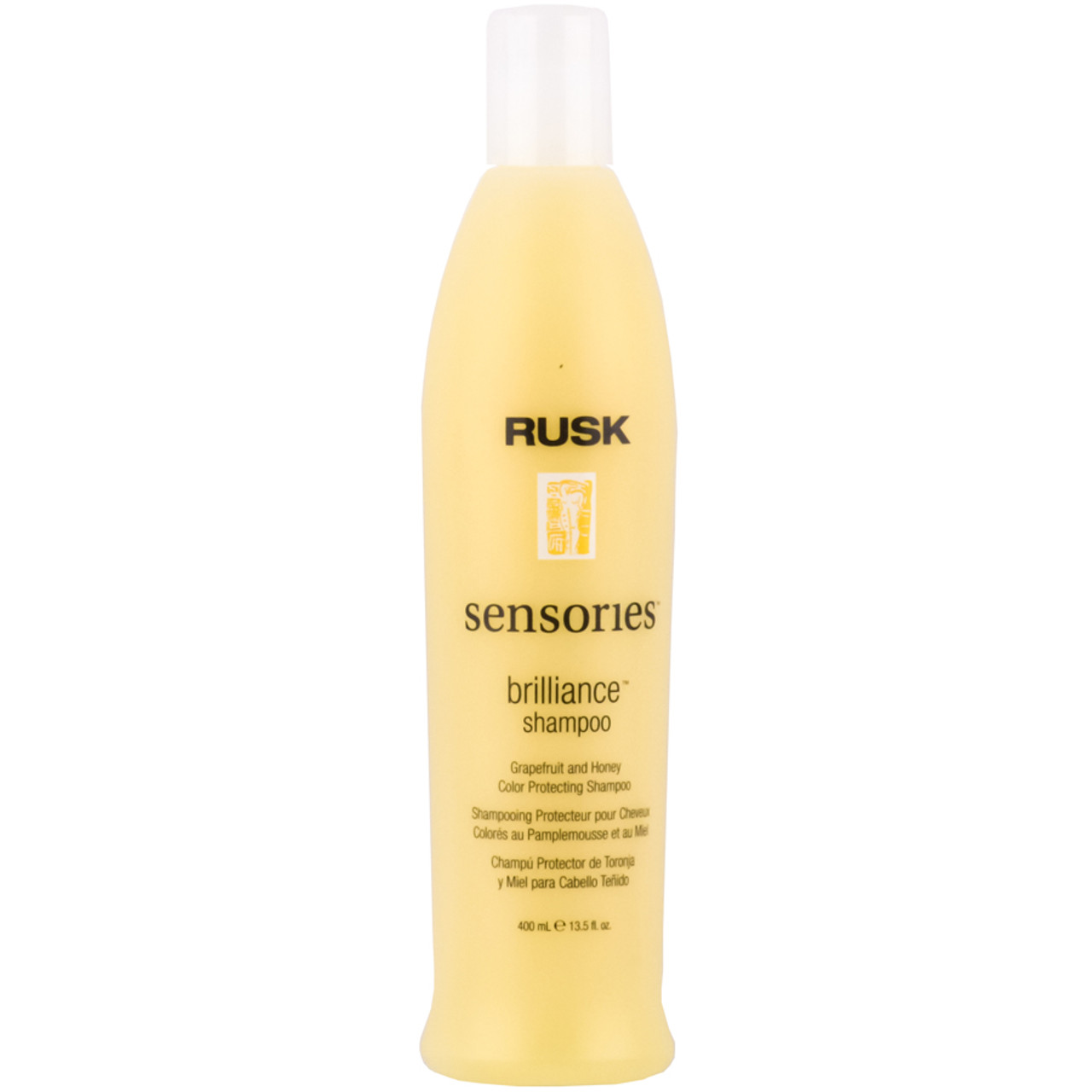 Rusk Brilliance Shampoo Grapefruit Honey Color Protect Shampoo