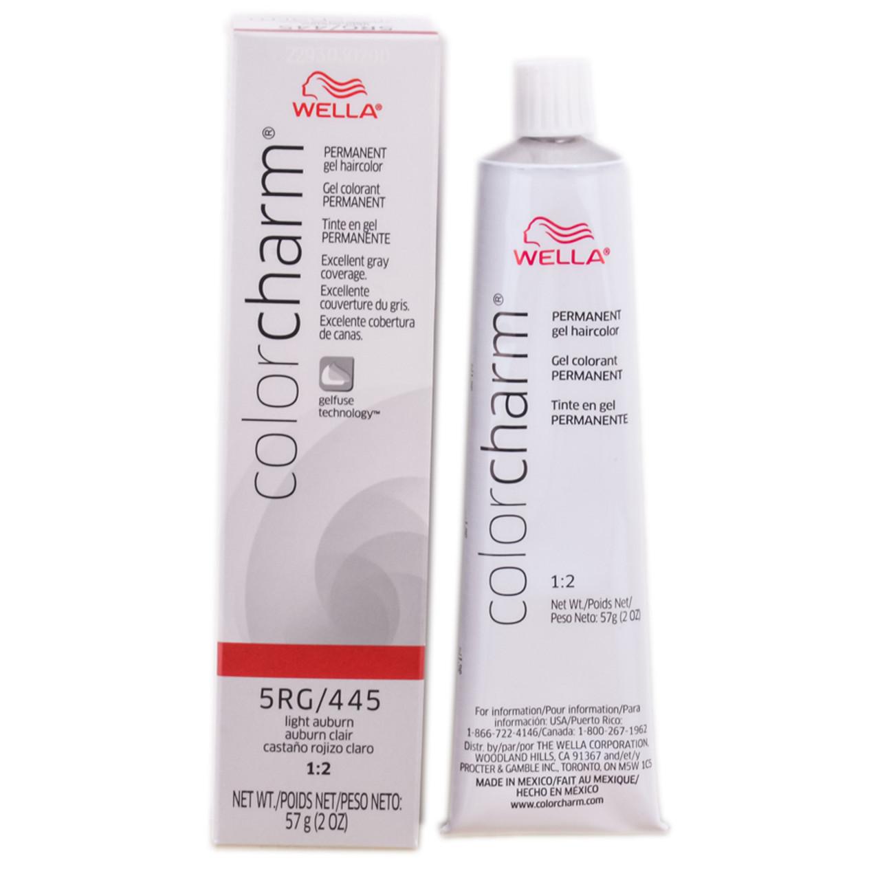 Wella Color Charm Gel Permanent Tube Haircolor - SleekShop.com ...
