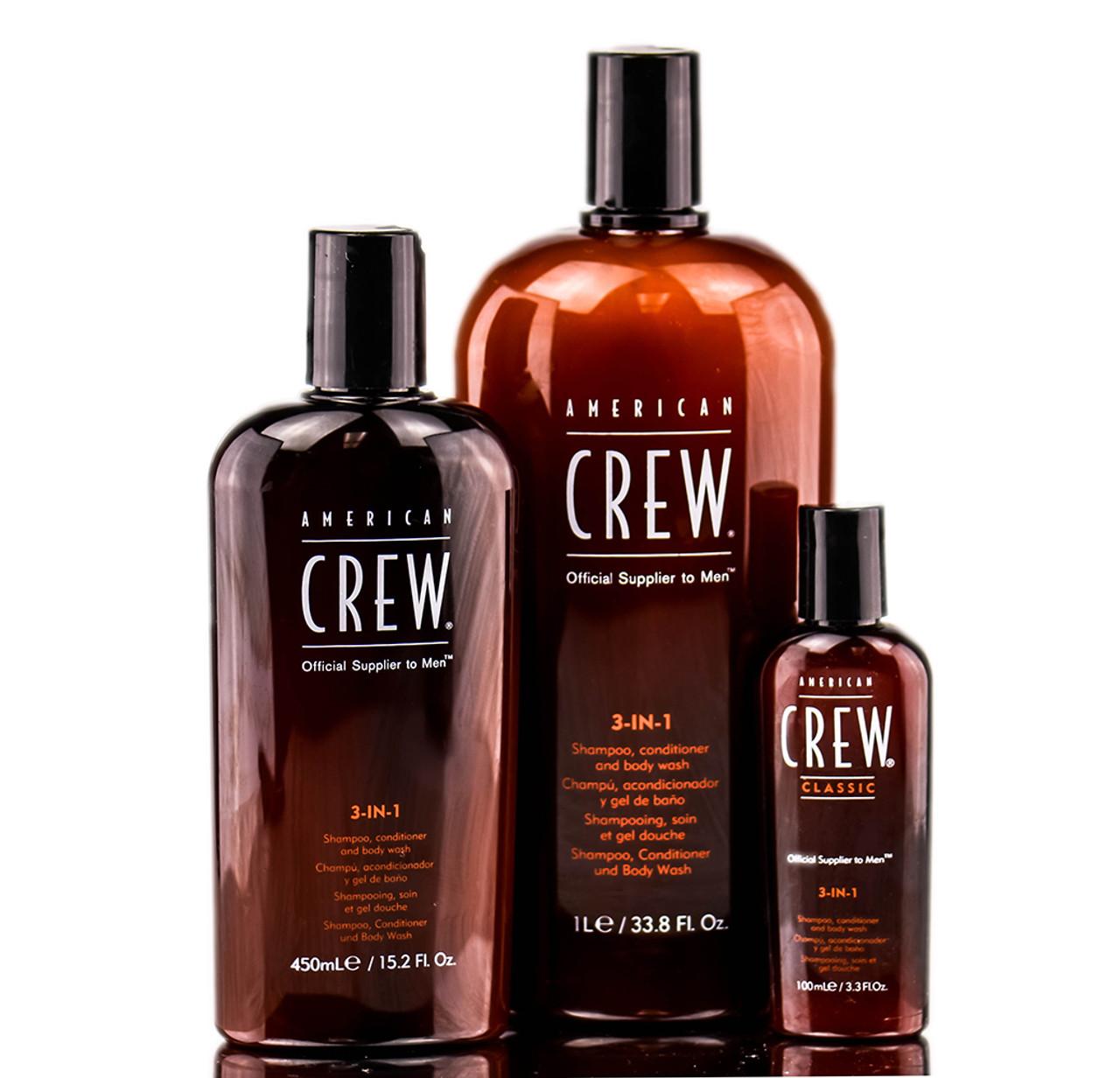 American crew classic 3 in 1 shampoo conditioner body for American classic 3