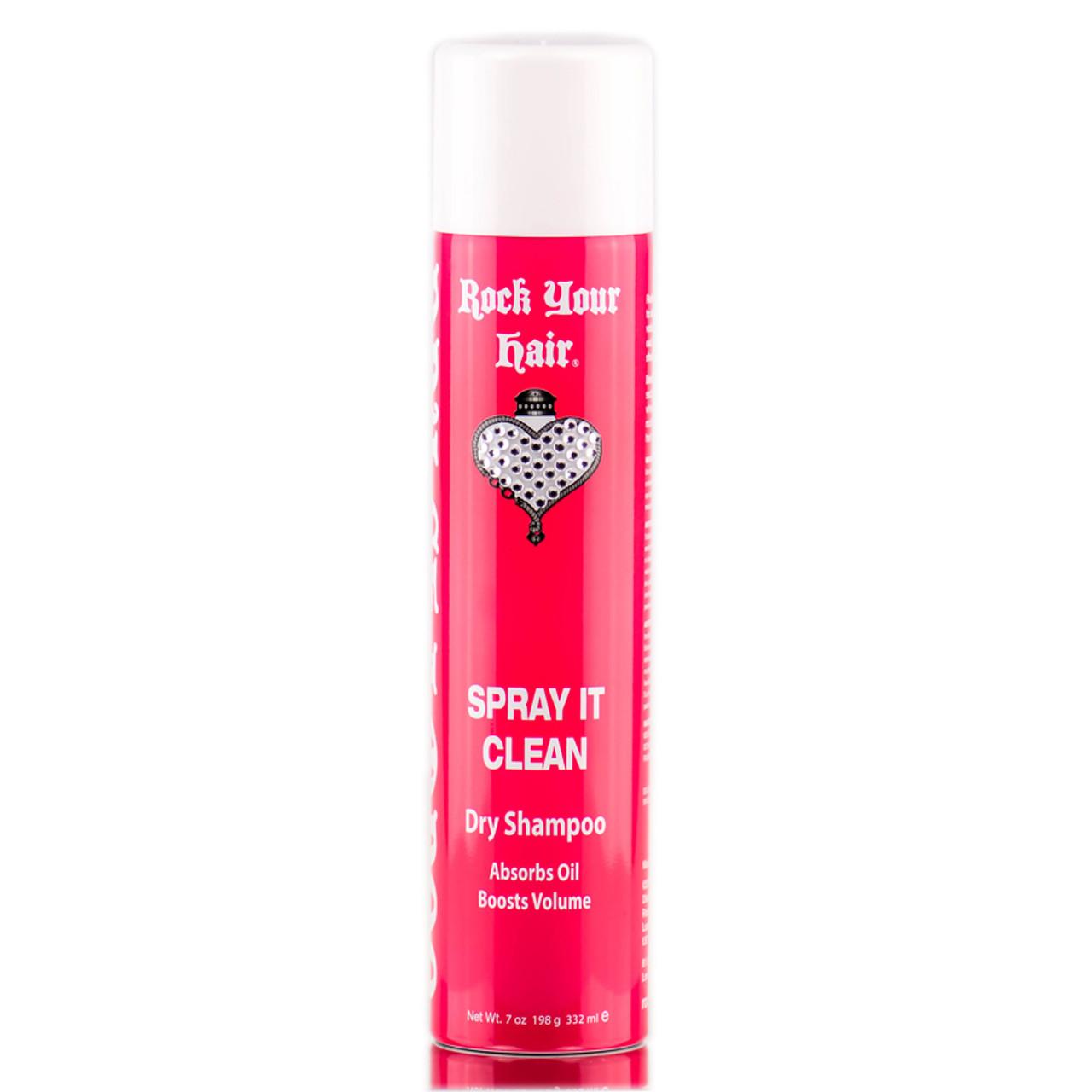Michael O'Rourke Rock Your Hair Spray It Clean Dry Shampoo