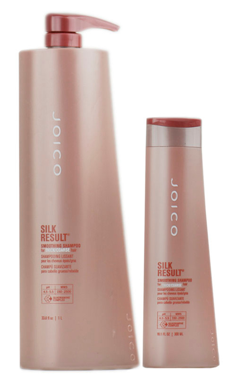 hair styling products for thick hair joico silk result smoothing shampoo for thick coarse hair 2891