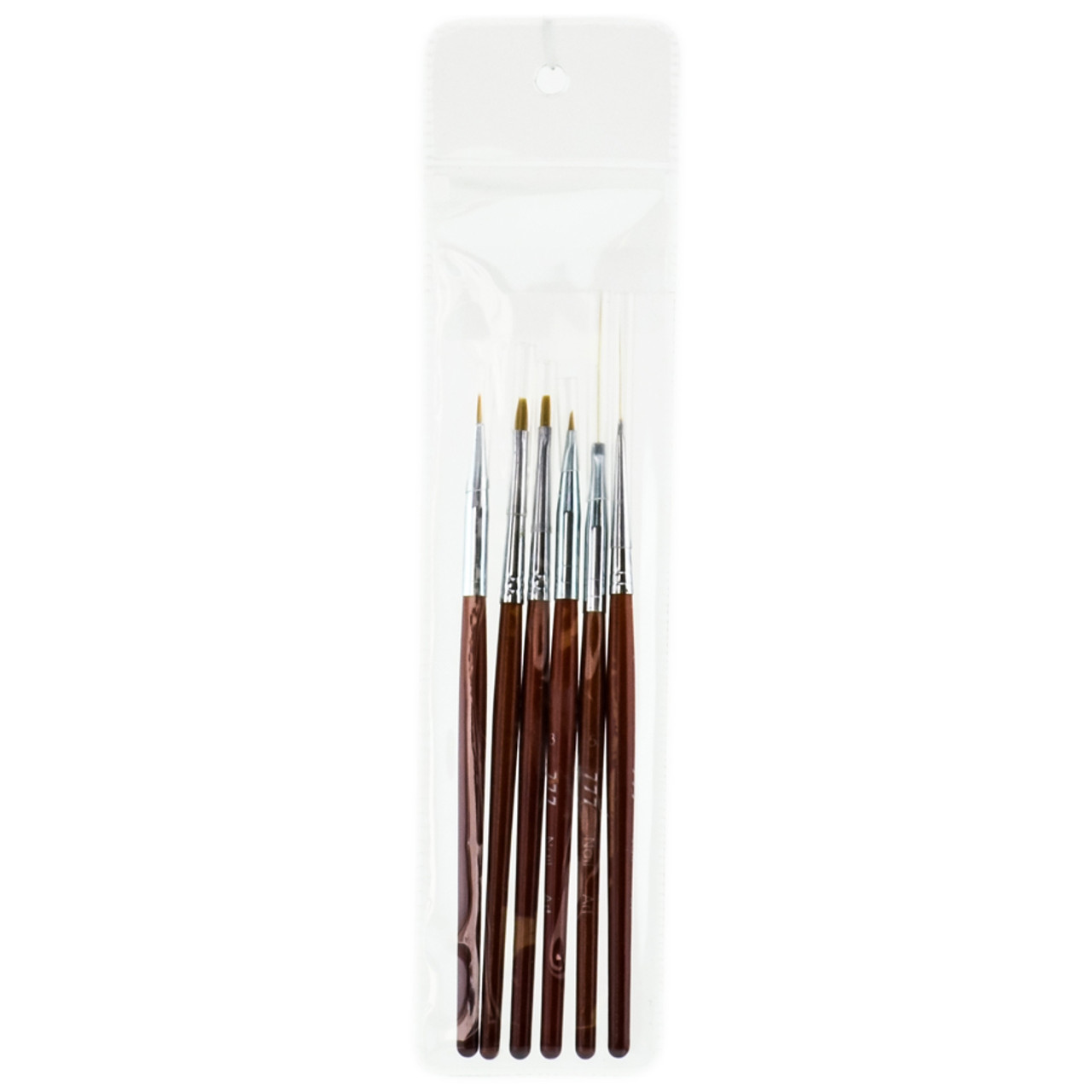 777 nail art design brush set formerly for Avon nail decoration brush
