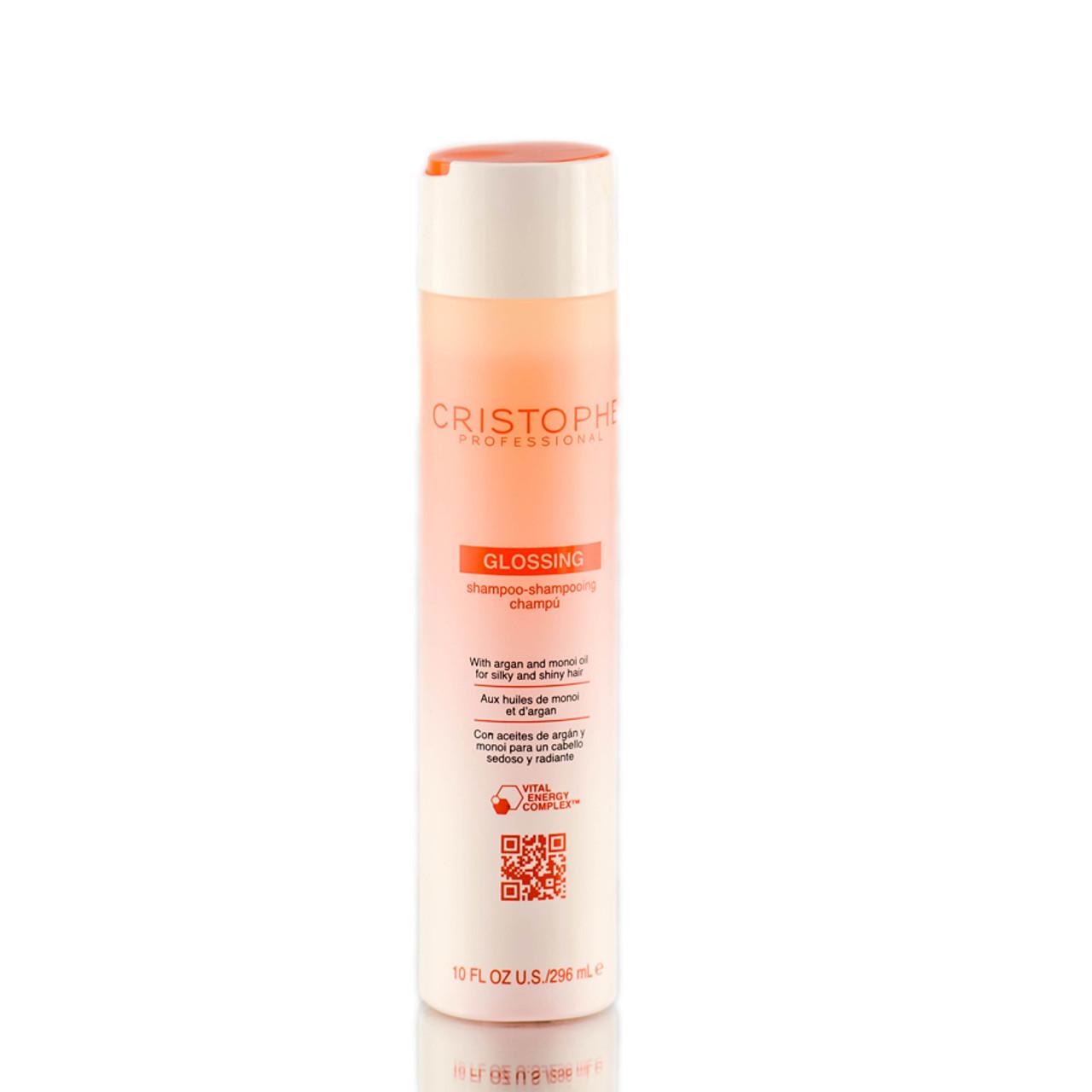 Cristophe professional glossing shampoo for Cristophe salon prices