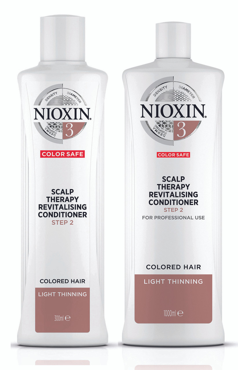 Nioxin System 3 Scalp Therapy Conditioner For Fine Hair