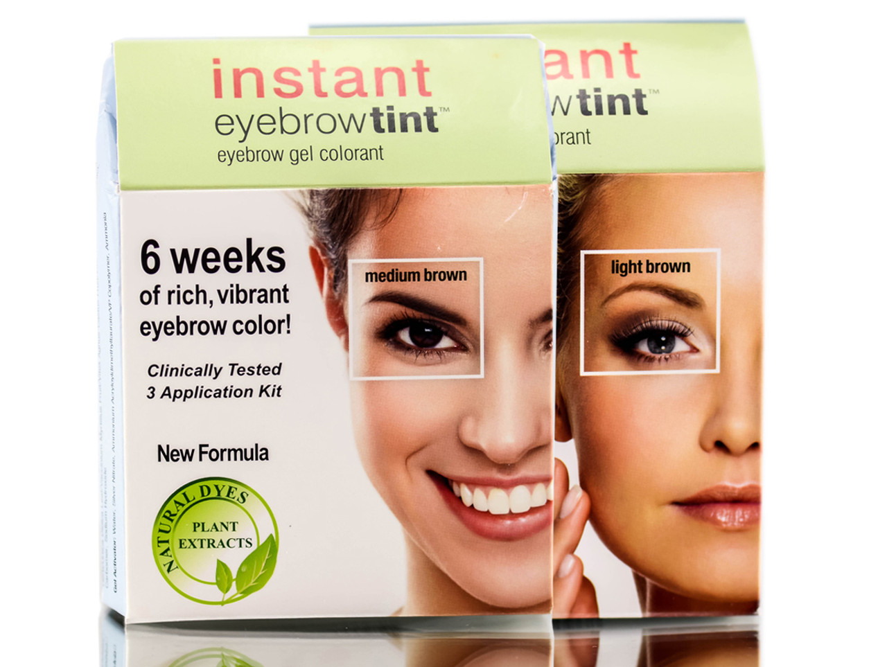 Godefroy Instant Eyebrow Tint 3 App Kit Sleekshop Formerly