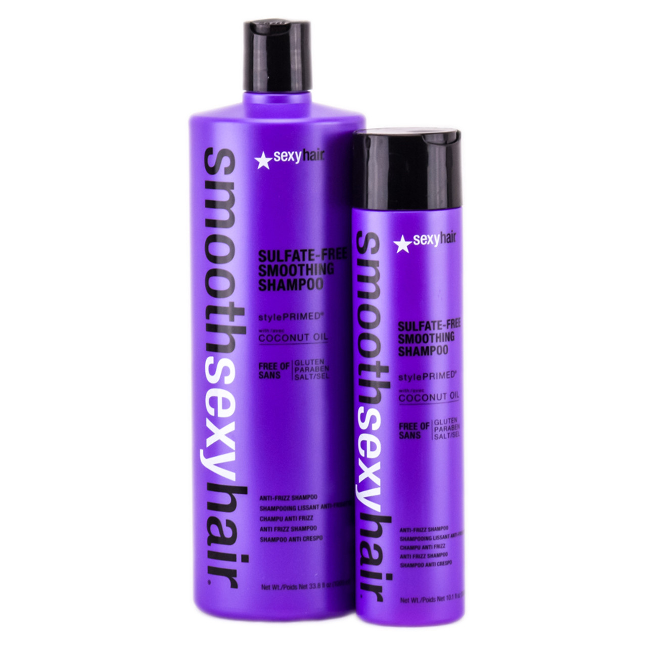 Smooth Sexy Hair Sulfate Free Smoothing Shampoo With
