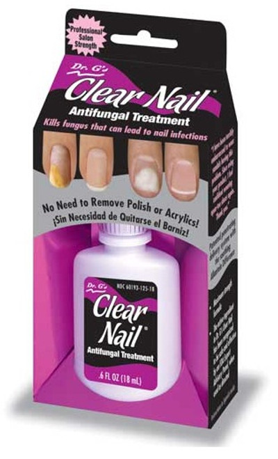 Nail Supplements Dr G S Clear Antifungal Treatment
