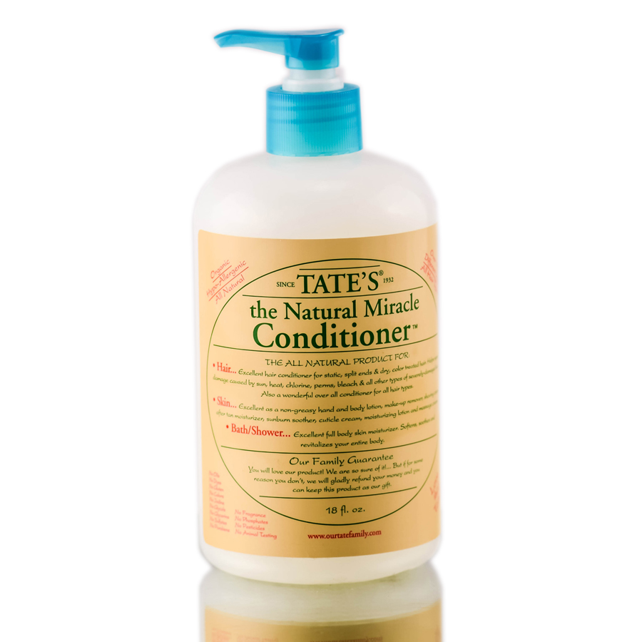Tate's The Natural Miracle Conditioner 715925809613