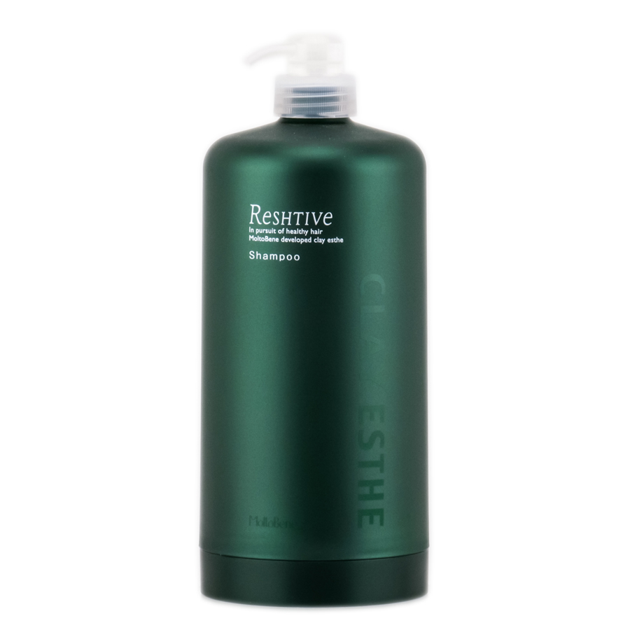 Clay Esthe Reshtive Shampoo Empty Bottle Pump 4961503653253
