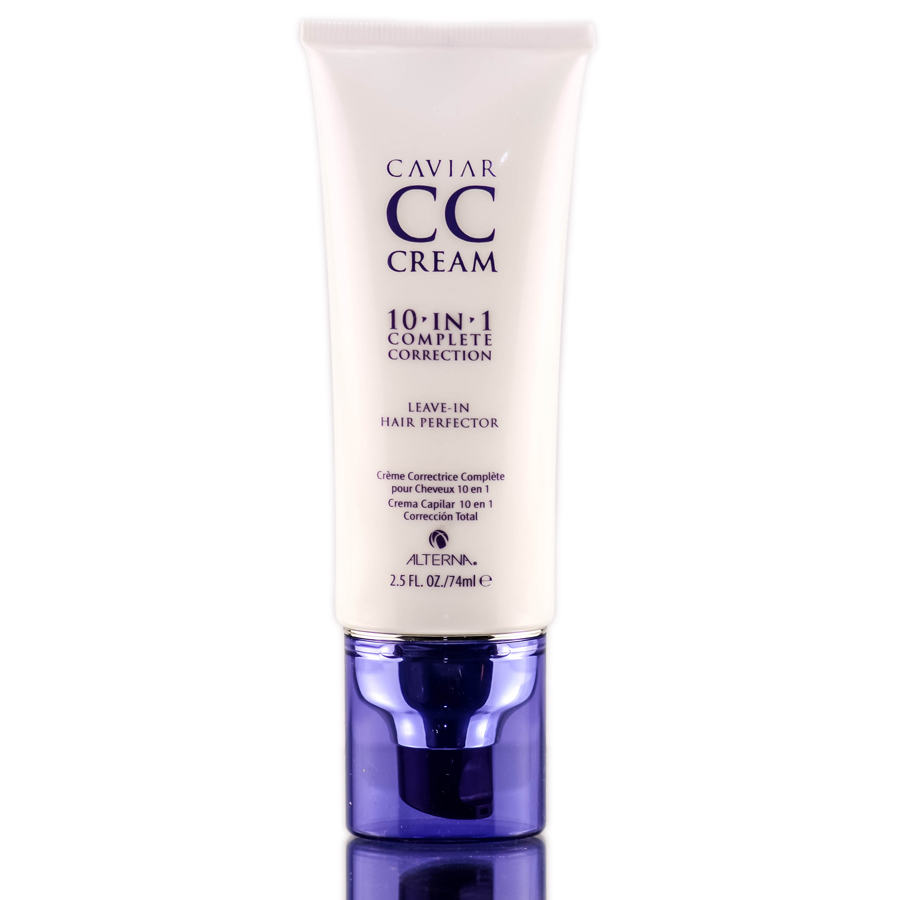Alterna Caviar CC Cream 10- in-1 & Leave-In Hair Perfector 873509021001