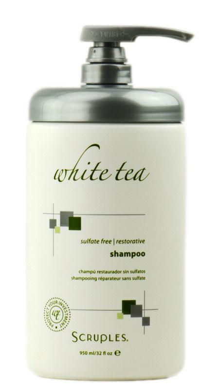 Scruples White Tea Sulfate-Free Restorative Shampoo 651458104408