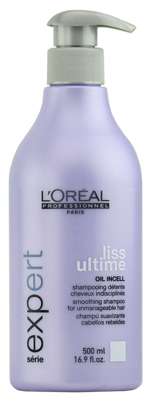 Staff Favorites: L'oreal Serie Expert - Liss Ultime Smoothing Shampoo 3474630535121
