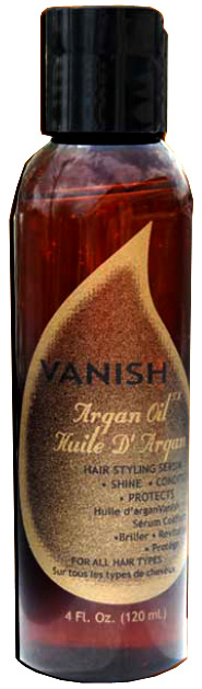 Vanish Argan Oil - hair styling serum 050809000596