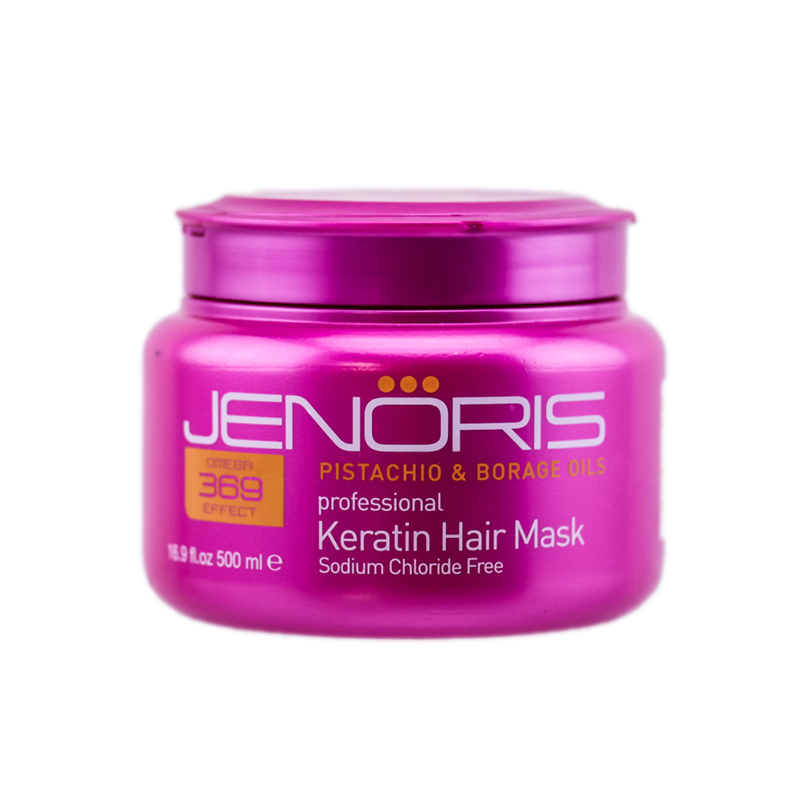 Jenoris Professional Keratin Hair Mask 7290005776182