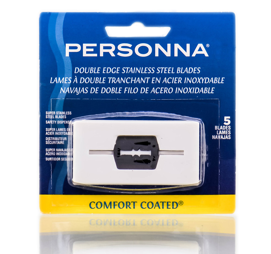 Personna Double Edge Stainless Steel Blades 024500601413