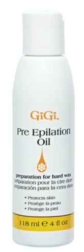 GiGi Pre-Epilation Oil - Use With All Type of Hard Wax 073930090106
