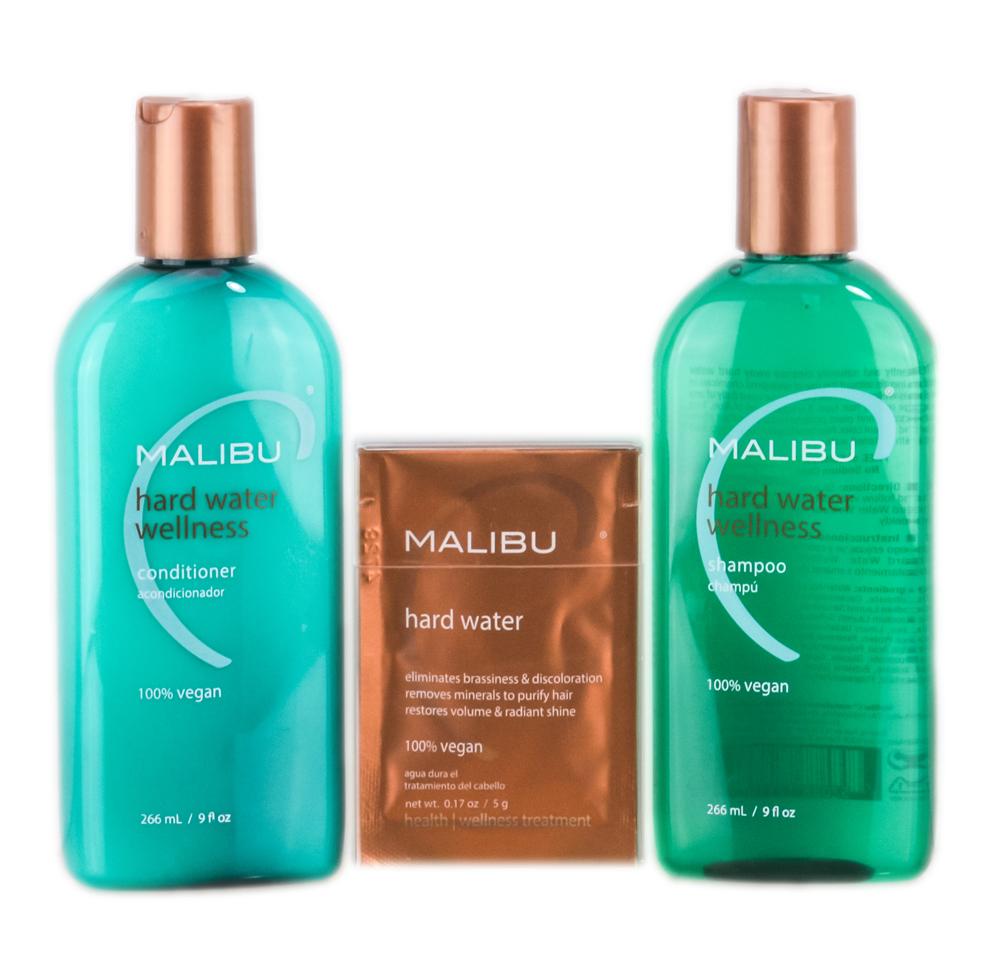 Malibu C Hard Water Wellness Treatments Kit 757088496125