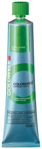 Goldwell Colorance Express Toning Demi Color (2.1 oz tube) 4021609116516