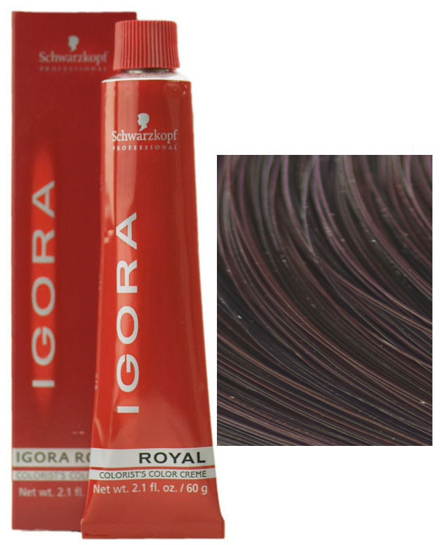 Schwarzkopf Professional Igora Royal Hair Color 7702045539134