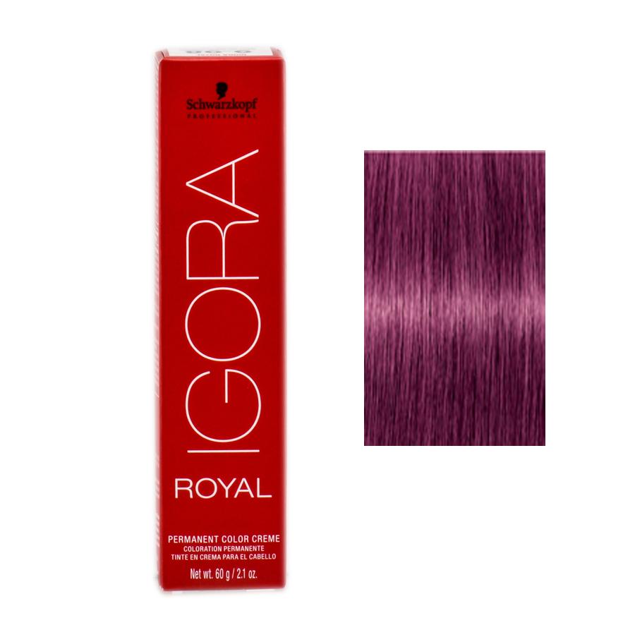 Schwarzkopf Professional Igora Royal Hair Color 7702045538366