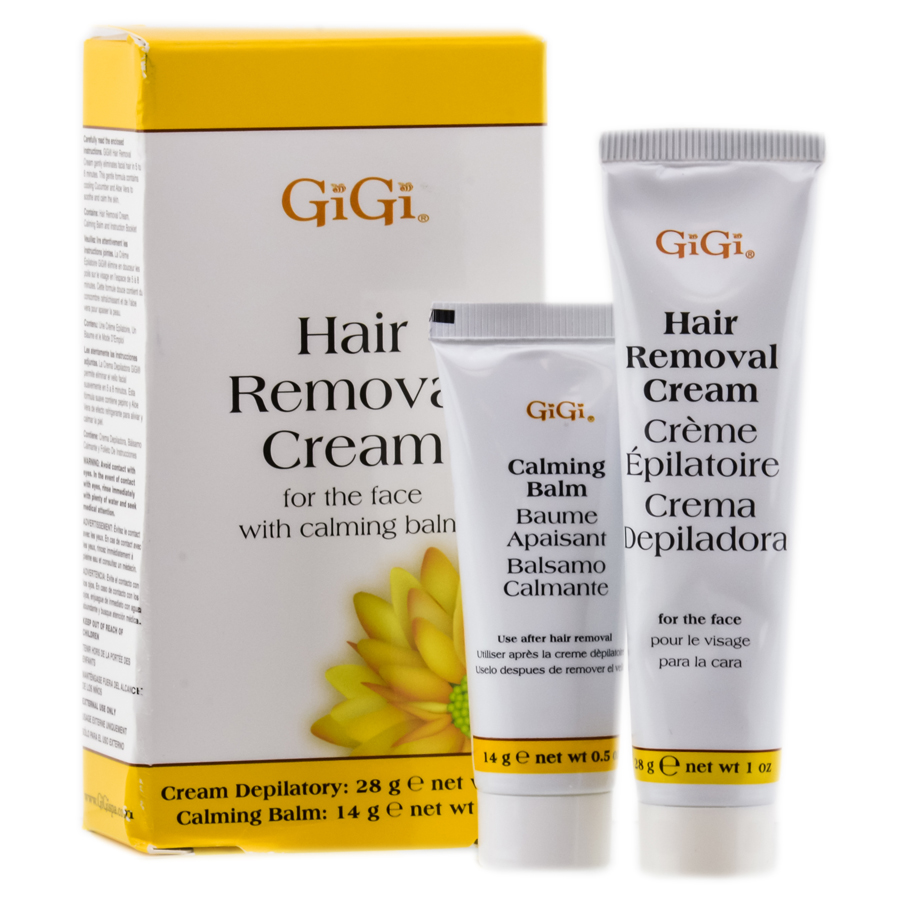 GiGi Hair Removal Cream For the Face Kit 073930043508