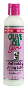 Organic Root Stimulator Olive Oil Girls Moisturizing Styling Lotion 632169111572
