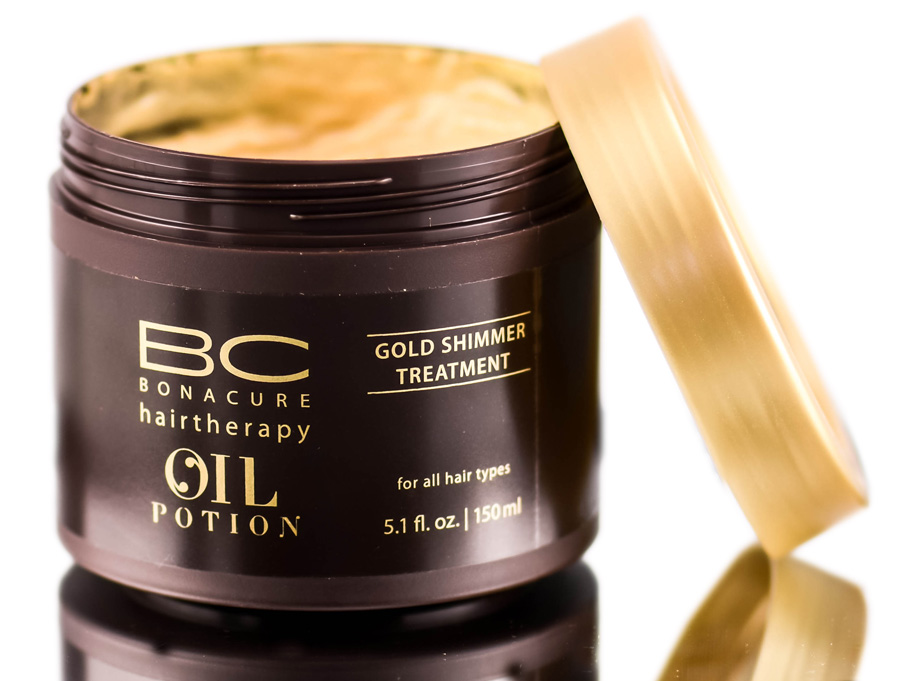 Schwarzkopf BC Bonacure HairTherapy Oil Potion Gold Shimmer Treatment 4045787198379
